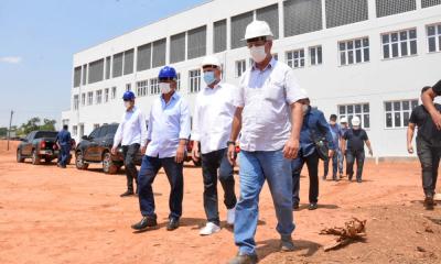 Governador do Tocantins, Mauro Carlesse, reafirma compromisso de entregar Hospital Geral de Gurupi ainda este ano