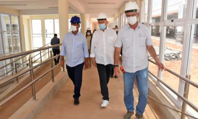 Primeira etapa do Hospital Geral de Gurupi comporta bloco do pronto-socorro infantil e adulto, bloco do ambulatório, bloco administrativo, rampa, passarela e escada