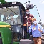 O anúncio foi feito, aos produtores e representantes do agronegócio do Estado, durante a abertura oficial do plantio da safra 2020/2021