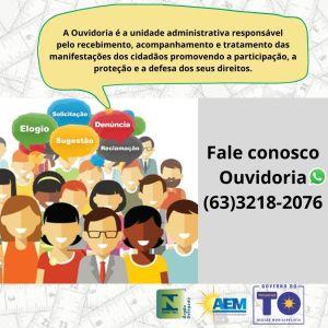 Ouvidoria do órgão recebe manifestações para promover a participação, a proteção e a defesa dos direitos do cidadão