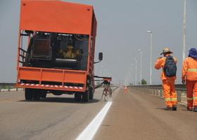 Revitalização da sinalização vai contribuir para a segurança viária