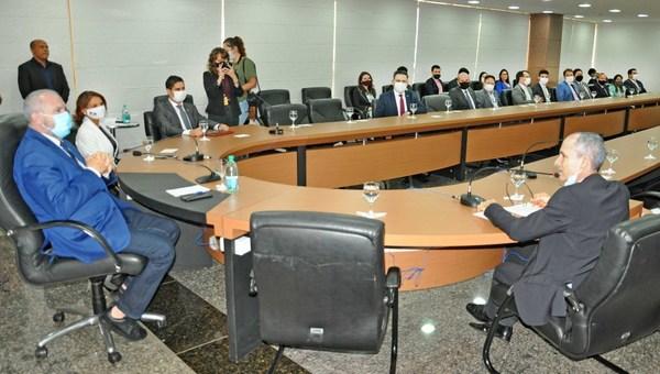 Governador Mauro Carlesse assinou o ato de nomeação de dez novos procuradores que irão atuar junto à Procuradoria Geral do Estado do Tocantins