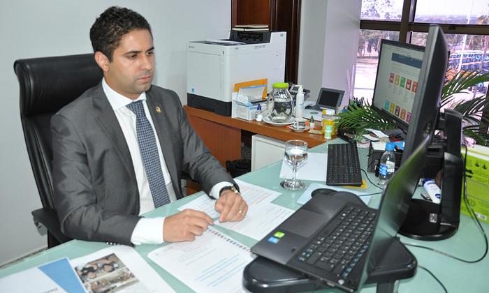 Secretário-chefe da Casa Civil, Rolf Vidal, destacou que este cenário pandêmico trouxe uma série desafios e dificuldades ao Estado