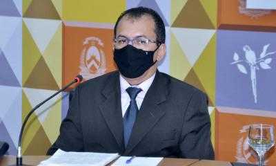 O secretário-chefe da CGE-TO apresentou a cartilha durante live transmitida do Palácio Araguaia