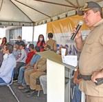 O Chefe do Estado-Maior da Policia Militar, coronel Márcio Antônio Barbosa, destacou o comprometimento do governador Carlesse com a segurança pública