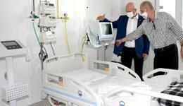 Governador Mauro Carlesse entregou, nesta sexta-feira, 30, os primeiros 25 leitos clínicos do Hospital Geral de Gurupi