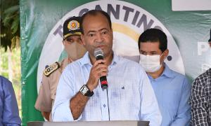 Presidente da Adapec, Alberto Mendes da Rocha, durante lançamento da segunda etapa de campanha de imunização - Washington Luiz/Governo do Tocantins