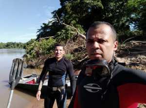 Bombeiros militares em atuação nas buscas em Taguatinga