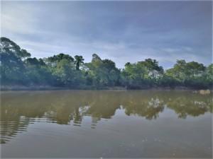 Rio Santa Tereza, em Peixe, onde Wabio Teles se afogou no domingo