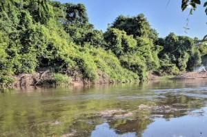 No Rio Manoel Alves Pequeno, em Itacajá, as buscas foram até a madrugada à procura de Celso Rocha