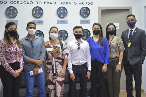 Equipe técnica da secretaria recepciona representantes da Inove Contadores Associados