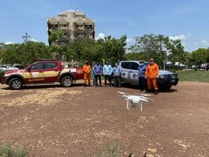 Curso de Piloto de Drone foi ministrado pelo Senar, em parceria com o Corpo de Bombeiros Militar e Receita Federal do Brasil