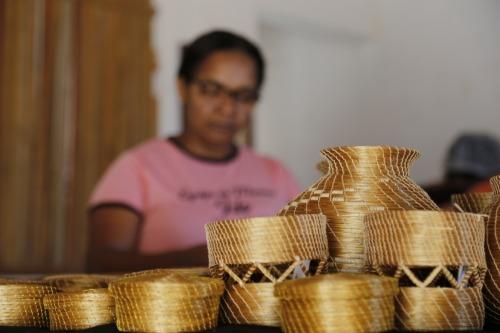 Artesanato de capim dourado, umas das preciosidades do Tocantins que será levado para Expominas/2020