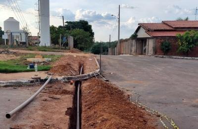 Em Novo Jardim, as obras atenderam toda a população da parte alta da cidade
