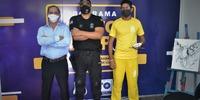 Secretário Executivo, Geraldo Divino Cabral, prestigiou a Mostra juntamente com o Superintendente do Sispen-TO, Orleanes Alves