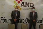 Presidente Cláudio Alex e Diretor Operacional do Detran/TO, Marcos Jair.