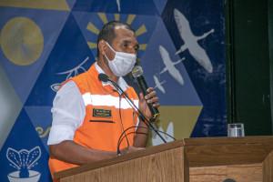 Superintendente da Defesa Civil Estadual, tenente-coronel Erisvaldo Alves, encabeçou as atividades no Tocantins
