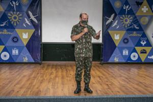Comandante do 22º Batalhão de Infantaria do Exército em Palmas, Coronel Brusch, que atuou com destaque nas ações contra as queimadas