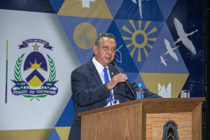 Governador em exercício, Antônio Andrade, destacou as ações de fiscalização e combate aos incêndios florestais no estado