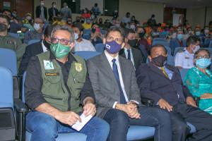 Presidente do Naturatins, Sebastião Albuquerque (E), e o defensor público José Maria Júnior (D), que atuaram como parceiros nas ações