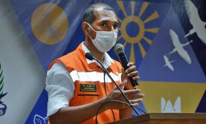 O tenente-coronel Erisvaldo Alves, superintendente da Defesa Civil Estadual, comentou sobre o trabalho realizado neste ano
