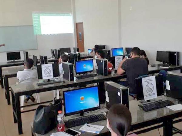 Servidores do Naturatins em Palmas recebem treinamento para operarem novo sistema Sigam
