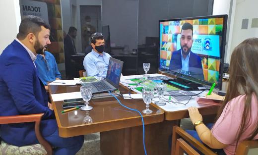 Secretário faz abertura do webinar sobre a produção de mandioca