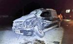 Camionete que se envolveu na colisão era ocupada por quatro pessoas