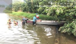 Durante ação de fiscalização agentes do Naturatins, Marinha e Polícia Ambiental fizeram abordagens educativas
