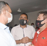 O prefeito eleito de São Salvador, Edmar da Construção, também elogiou o gesto de Antonio Andrade em visitar a região