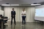 Márcio Junho e Elyane Monteiro conduzem o treinamento