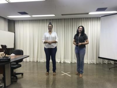 Elyane Monteiro e Cristiane Barbosa