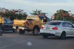 BMW foi abordada por fiscais do Detran-TO e conduzida à delegacia com seu condutor.