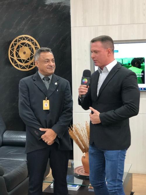 Carlos Carneiro, gerente de distritos industriais e empresariais, também foi entrevistado