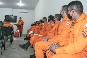 Coronel Farias destaca a importância da formação da nova turma e os conceitos ma padronização do sistema de ensino no CBMTO