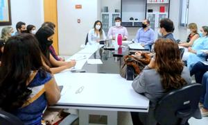 Reunião buscou discutir a reorganização de fluxo de pacientes que dão entrada no HGP