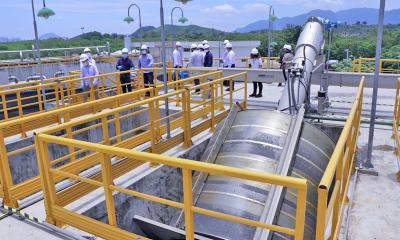 Estação Deodoro tem capacidade de 750 litros de efluentes por segundo