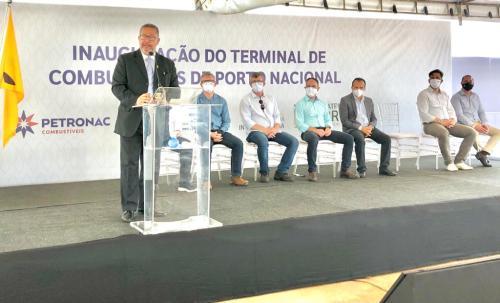 Representando o Governador Mauro Carlesse, secretário Tom Lyra destacou o sucesso das parcerias público privadas