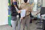 Comandante Geral recebe representante de Unidade se Ensino