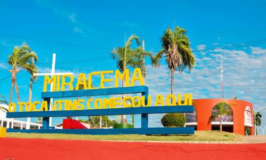 Miracema serviu como sede do governo no início da criação do Tocantins, durante a construção de Palmas