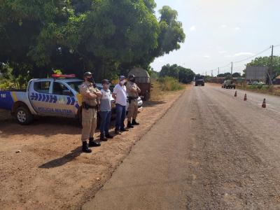 Operação com apoio da PMTO no município de Tocantinópolis