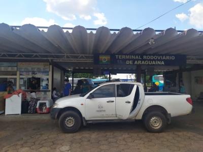 Averiguação da situação do terminal rodoviário do município de Araguaína
