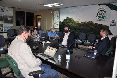 Técnicos da Fundace apresentaram o plano de trabalho do Estudo de Revisão Tarifária dos Serviços de saneamento