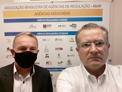 Presidente da ATR, Edson Cabral faz visita técnica em Deodoro no Rio de Janeiro para conhecer nova tecnologia de tratamento de esgoto