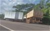 Acidente envolvendo três caminhões termina em duas mortes na BR-153, no sul do Tocantins