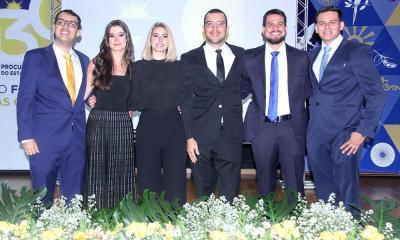 Novos procuradores foram aprovados no 3° concurso público para a Instituição e empossados em solenidade no auditório do Palácio Araguaia