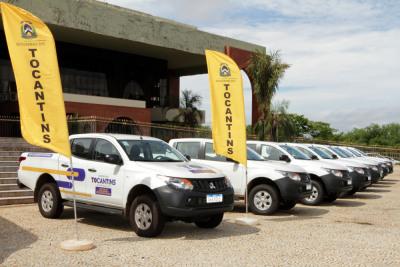 Veículos foram entregues para auxiliar nos trabalhos dos órgãos ligados ao sistema estadual de meio ambiente