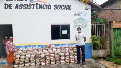 Cras do município de Barra do Ouro. Arquivo setas/ Governo do Tocantins