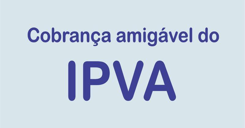 Nota - Cobrança amigável do IPVA