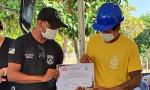 Gestores da Seciju, chefes de Unidades Penais e autoridades locais fizeram a entrega dos certificados aos custodiados